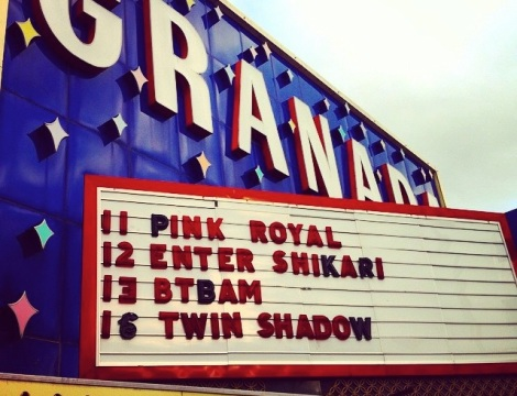 Pink Royal Album Release Party / Saturday April 11th, The Granada