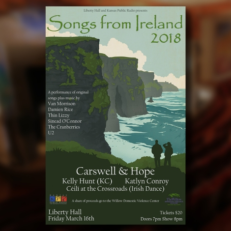 Songs From Ireland 2018 – 3/16 at Liberty Hall