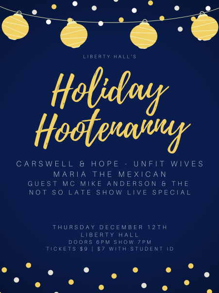 Holiday Hootenanny Poster